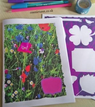 creative journaling booklet summer A5