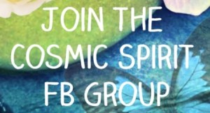 join cosmic spirit community FB group
