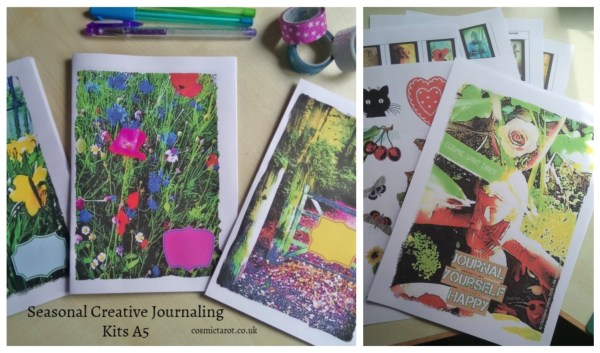 a5 creative journaling kit feat. journal yourself happy