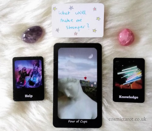 cosmic faery tarot and cosmic journaling oracle