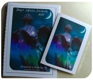 tarot moon journal 2020 & A5 journal cover