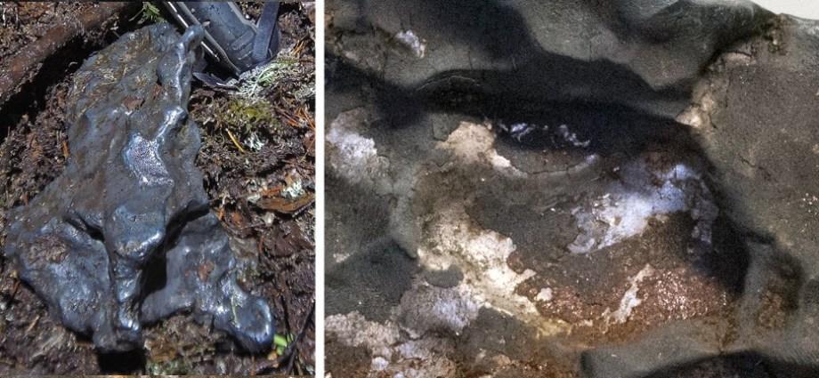 Spektakularne znalezisko żelaznego meteorytu w Uppland - Szwecja