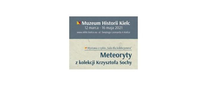 Meteoryty z kolekcji Krzysztofa Sochy