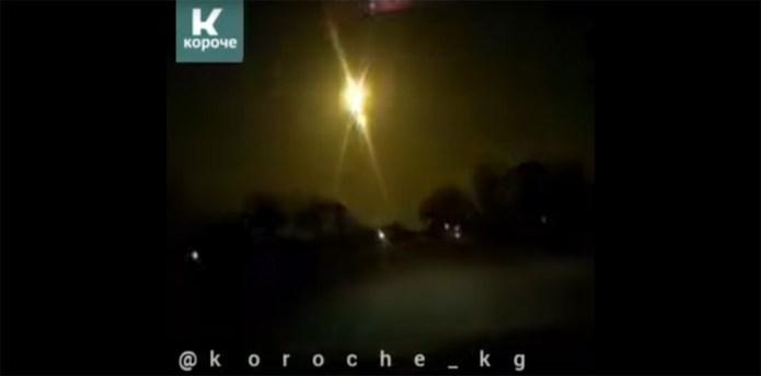 Bolid nad Kirgistanem (06.04.2021)