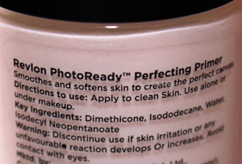 Revlon Photoready Perfecting Primer Review -