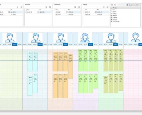 VisualPlanner - Arbeitszeiten