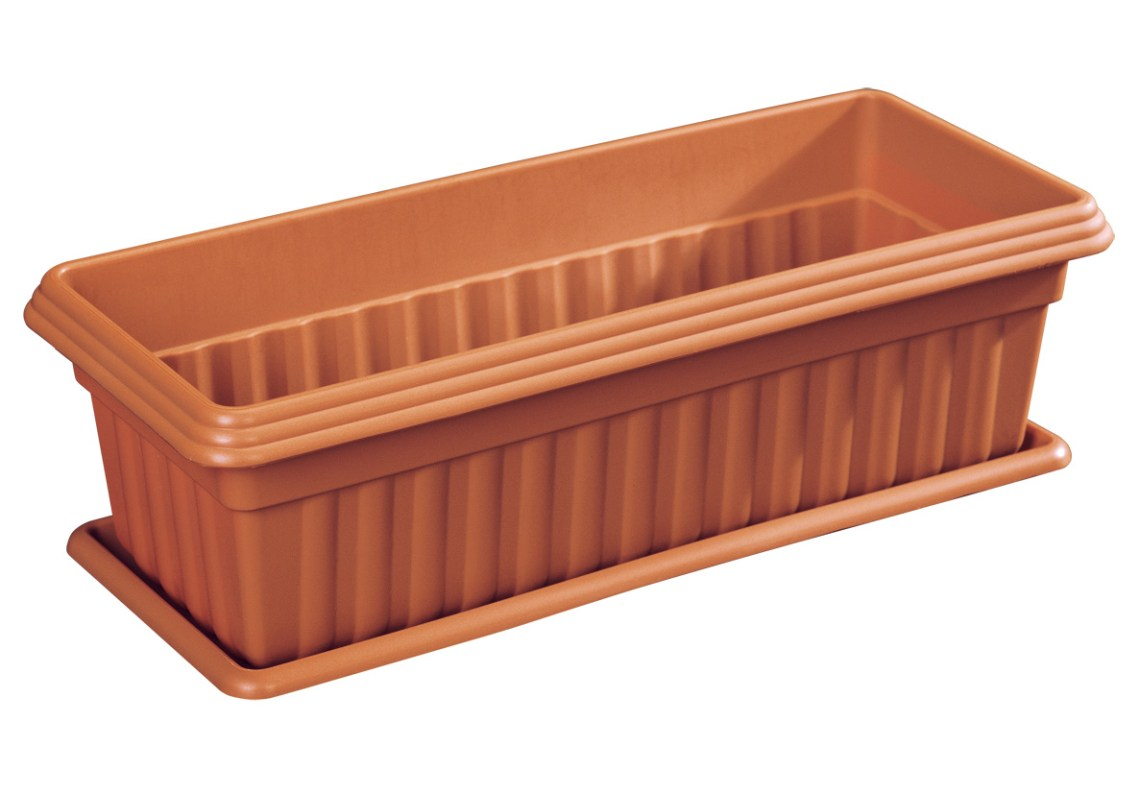 Cosmoplast Exotica Planter with Tray for Plants