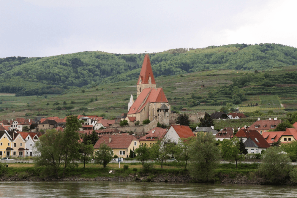 Tiny villages around krems, Spitz, Durnstein and Melk