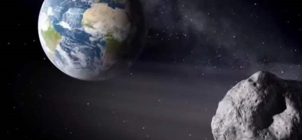 A Huge Asteroid 2000 EM26 Passes Near Earth Today