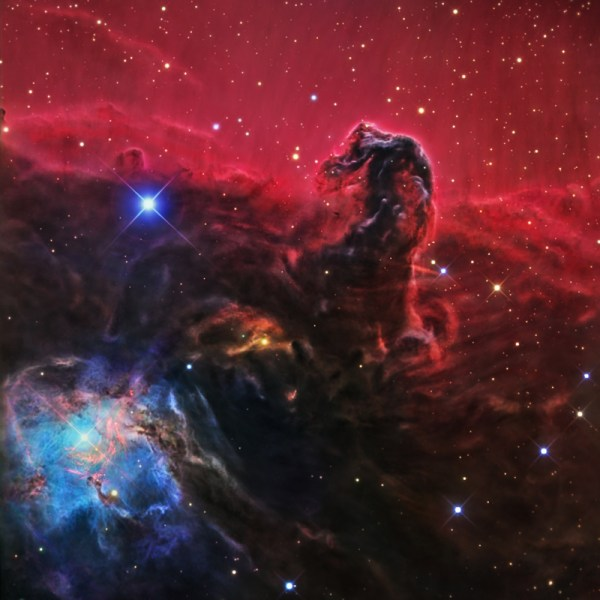 IC434the Horsehead Nebula in Orion