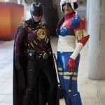 harley und batman cosplay