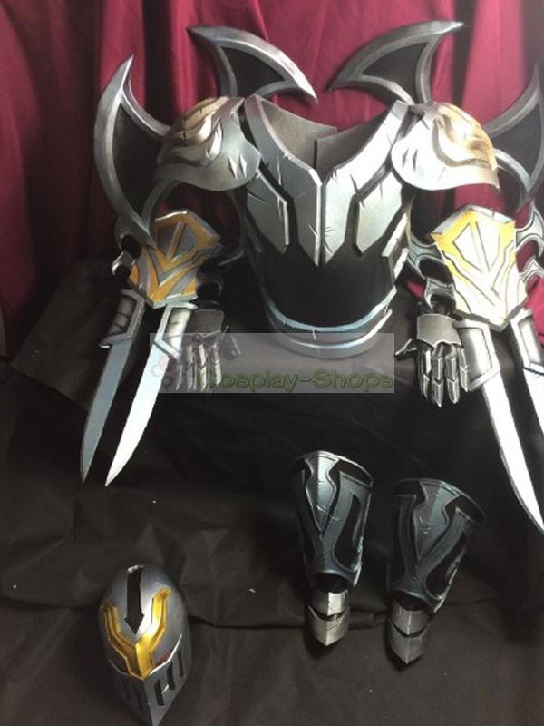 Custom Cheap League Of Legends LOL Zed Full Armour Cosplay