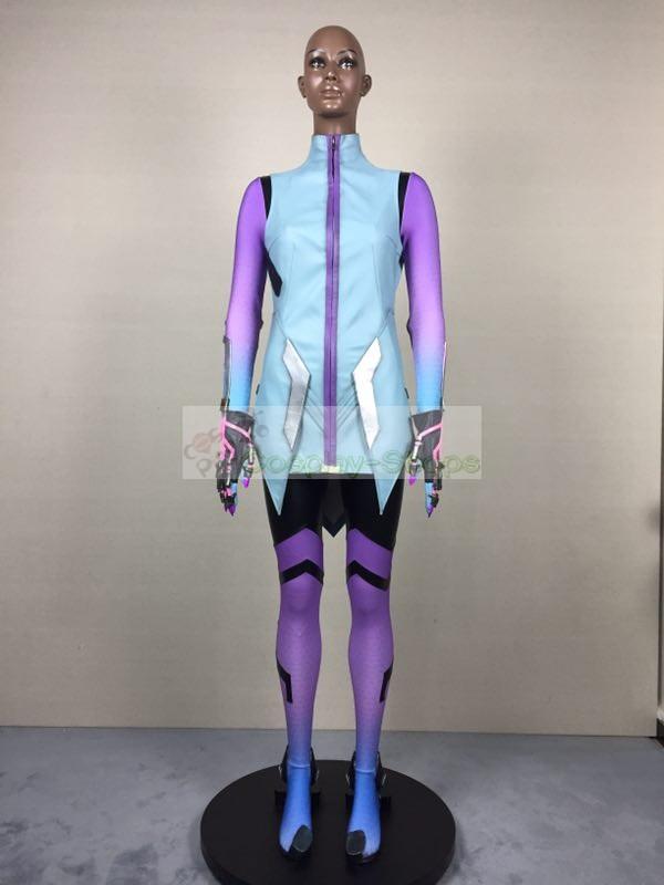 Custom Cheap Overwatch Sombra Full Cosplay Costume In