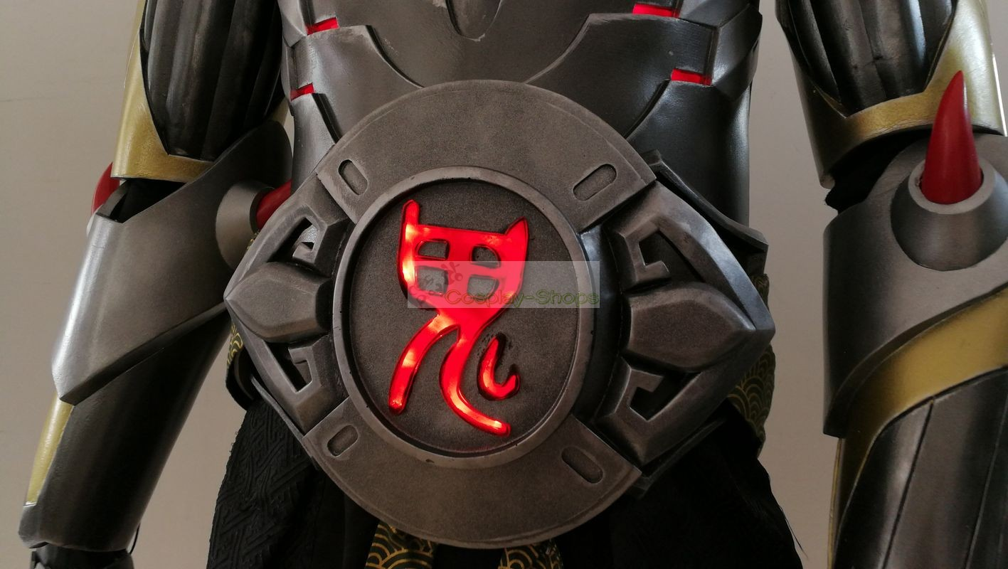 Custom Cheap Overwatch Oni Genji Full Set Cosplay Armor In Overwatch Oni Genji For Sale Online