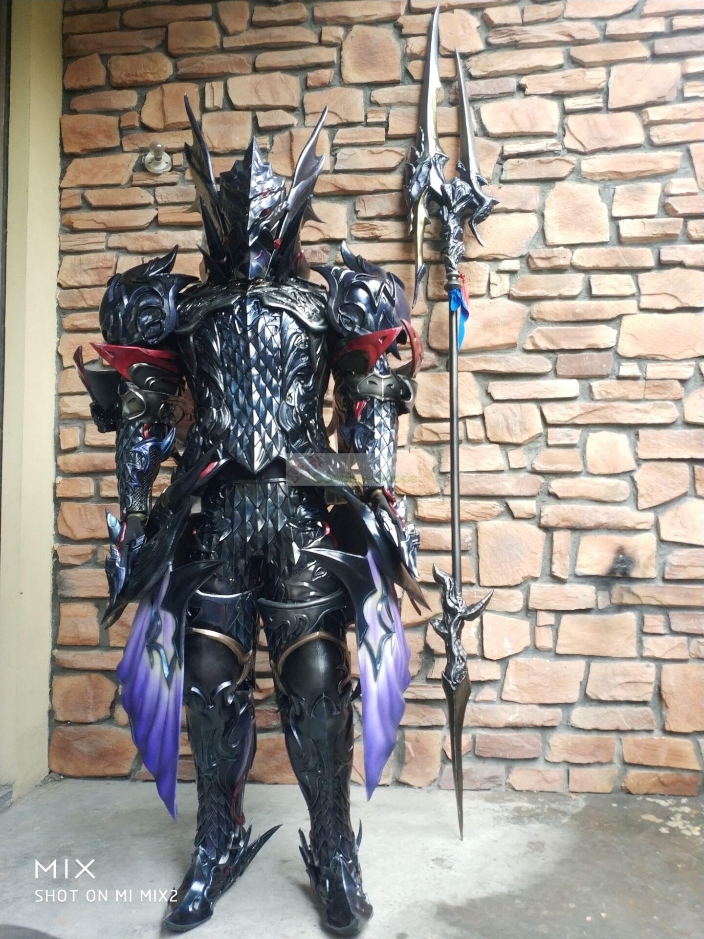 Custom Cheap Final Fantasy XIV FF14 Heavensward Dragonlancer Dragoon Lancer Lvl 60 Cosplay