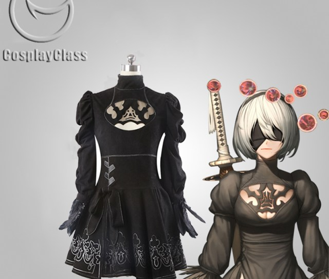 Related Images To Image Is Loading Nier Automata Cosplay Operator Costume Y