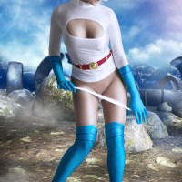 Power Girl Cosplay