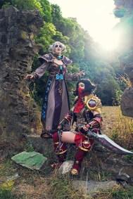 Vicdustrael & Kayoss Cosplay by Lumenox Photography