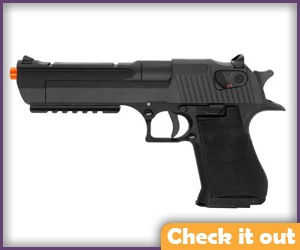 Black Air-Soft Desert Eagle.