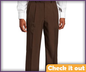 Brown Dress Pants.