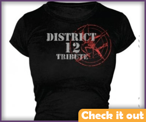 District 12 Tribute shirt.