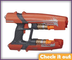 2 of Star-Lord's quad blasters.