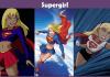 Supergirl Costume.