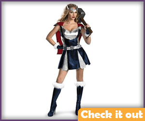 Female Thor Costume.