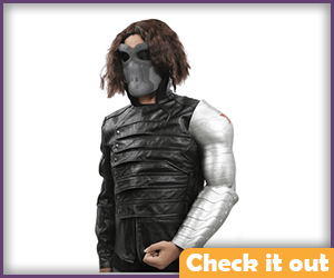 Winter Soldier Costume Set.