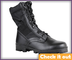 Black Military Boots.