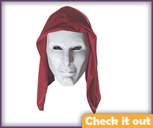 Mask with Hood.
