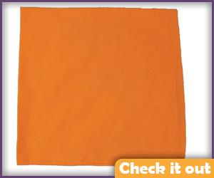 Orange Bandanna.