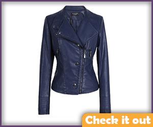 Blue Short Jacket.