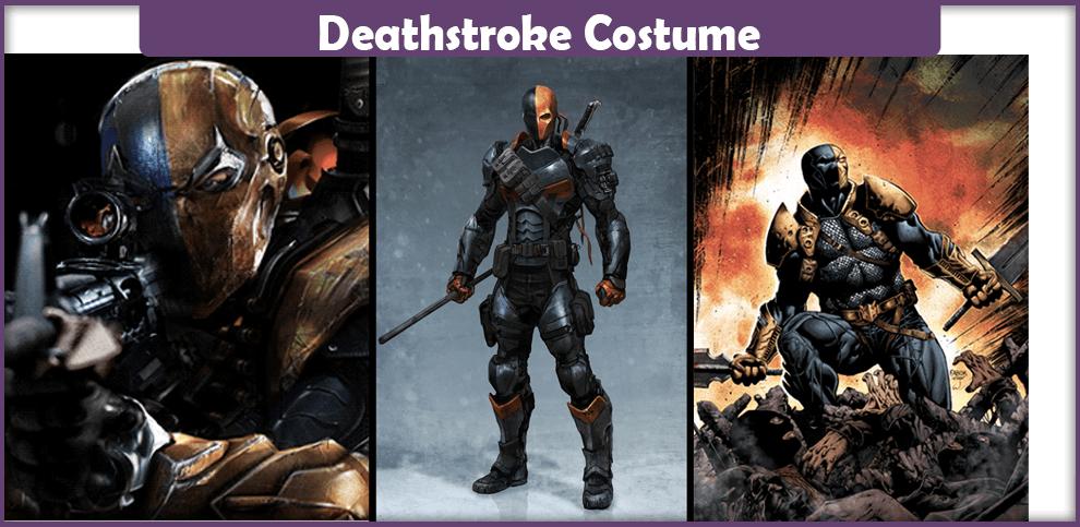 Deathstroke Costume.