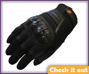 Black Tactical Gloves.