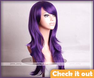 Purple Wig.