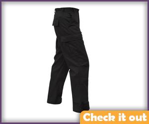 Black Tactical Pants.