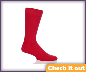 Regular Red Socks.