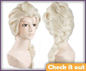 Elsa Blonde Wig.