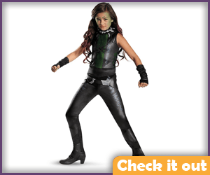 Gamora Childs Costume.