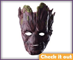 Groot Mask Dark Wood.