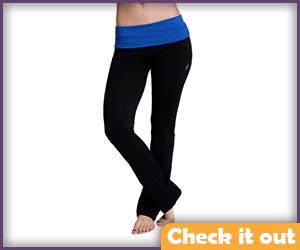 Black Pants Blue Waist (adjust for male sizing).