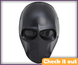 Black Plain Mask.