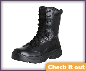 Black Tactical Boots.