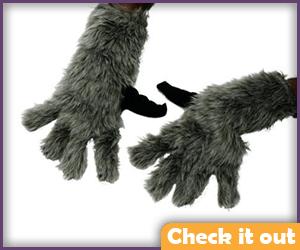 Raccoon Gloves.