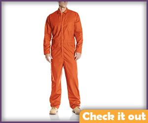 Mens Orange Jumpsuit.