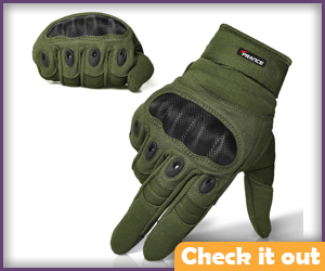Army Green Gloves.