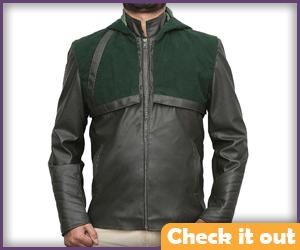 Green Arrow Leather Jacket.