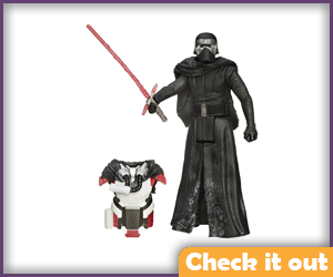 3.75 in. Figure Snow Mission Armor Kylo Ren.
