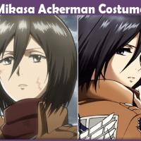Mikasa Ackerman Costume - A DIY Guide